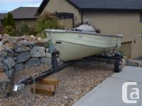 for sale is my mirro craft 12' aluminum fishing boat.
