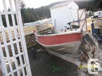 12 foot aluminum SpringBok boat for sale with 1