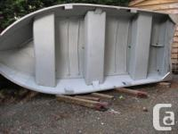 12 foot aluminum riveted boat(2003) with 9.9 Johnson