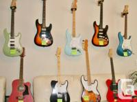 12 guitars are for sale from our private collection and