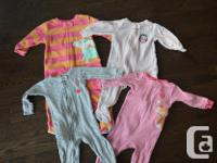 Carter's YEAR pyjamas $3 each - 3 cotton and also 1