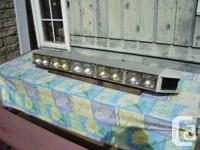 This is a changed Tomar 465L Headlight bar. It is 48.5