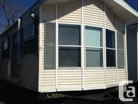 12 x 40ft MOBILE-HOME1 Bed room + den.