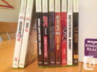 Xbox 360 games 12 games asking $15 for all. pick up