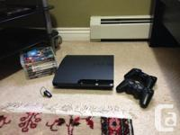 120 GB ps3 system comes with ten games and two