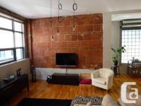 MAGNIFIQUE apartment situé au c�ur du Nouvo St-Roch.