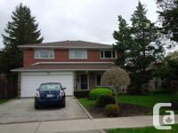 Stunning detached 2 storey brick residence, on