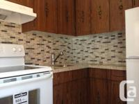 1st Floor renovated 1 Bedroom apartment just north of