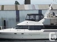 This Bayliner 4587 is ready for cruising. She just had
