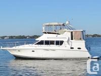 The Silverton 422 Motor Yacht boasts an incredible
