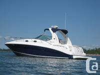 Nice clean freshwater 320 Searay Sundancer, Bravo three