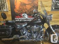 In the saddle of a Harley-Davidson Softail, no road is