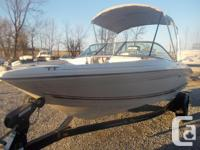 2001 Sea Ray 182 18' Bowrider with 4.3 Mercruiser I/O
