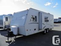 This is a lovely gently pre-owned Hybrid Travel Trailer