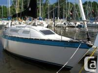 This is a classic starter boat with ocean capabilities.