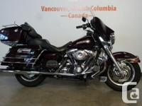 Up for grabs is a great Electra Glide Classic. This