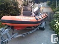 Our 13 foot 1998 Polaris Seamaster Rigid Inflatable