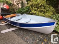 REDUCED PRICE....Thornes Aluminum boat 13 feet, deep