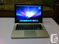 I am selling a used 13 inch Macbook Pro I bought just