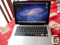 "13"" Macbook pro in perfect working condition, 2010"
