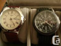 i have 13 mens' watch for sale and case is free if you