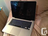 I am marketing my old MacBook Pro which I acquired