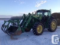 7520 2006 John Deere 7520, Row Crop Tractors, Front