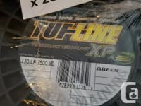 130 lb. Tuff line two spools for sale. Each is $425.00