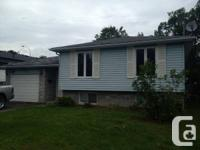 3 bed rooms home with attached garage area and fenced