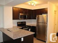 Brand New Unit. Never Lived-In Before. In Great Up &