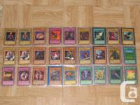 I am offering the complying with Yu-Gi-Oh! cards.