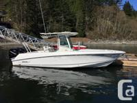 The Boston Whaler 280 Outrage is a very unique and