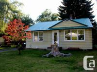 . Super clean 2 bed room rancher in Salmo on a dual