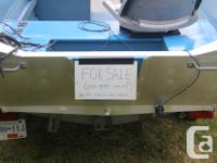 14 1/4 ft. Klamath welded aluminum boat package.