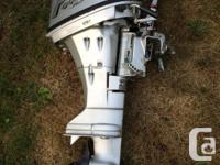 "Boat, trailer and motor 14"" aluminum boat. Needs one"