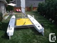 Fresh Paint, 3 year old sail, 3 year old trampoline,