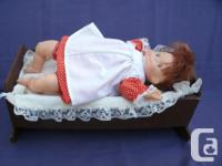 very cute vintage Doll REGAL TOY with soft cloth Body,