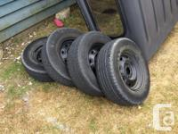 Rims are genuine Ford steel rims, recently repainted