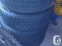 Nexen Winguard 184 65 R14 winter tires with steel rims
