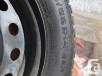 4 great condition winter tires for sales. Asking $250