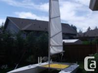 Ronstad home built , fresh paint, 3 year old sail 3