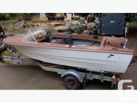14' Hurston hull with steering/aluminum transom plate