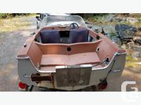 Hull only $500 including steering and aluminum transom