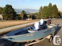 Great Springbok / Princecraft aluminum boat. Reliable