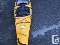 14.5' Lightspeed Photon Kayak, 45 lbs, stable, highly