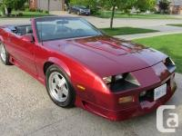 Anniversary Edition Z28 near mint condition , original