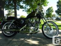 Come and take a look at this Sportster 72 with custom
