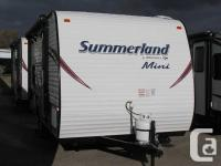 Description: SUMMERLAND'S NEW MINI SINGLE AXLE TRAVEL