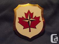 A Canadian Forces Queens Crown Era Europe Command