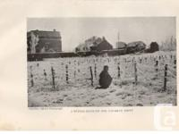 Vintage Military Photographic Print Photo 1919 Winter